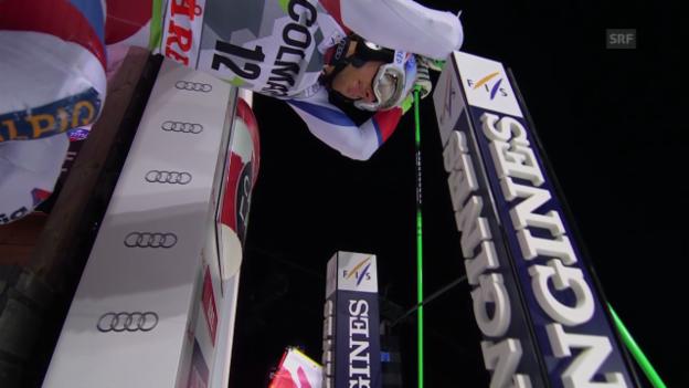 Video «Ski: Weltcup Männer, Riesenslalom Are, 1. Lauf Janka» abspielen