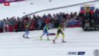 Video «Langlauf: Team-Sprint» abspielen
