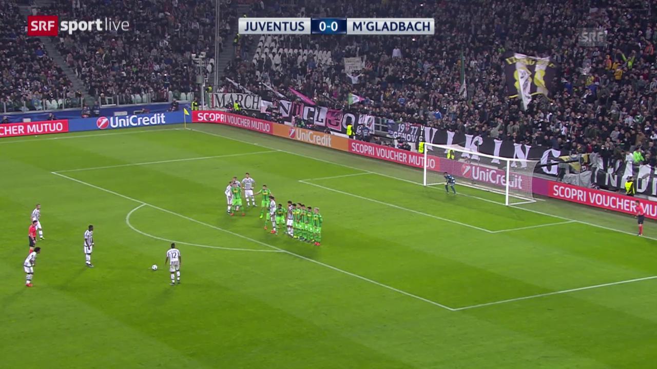 Fussball: CL, Juventus - Gladbach
