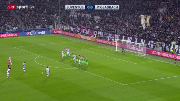 Video «Fussball: CL, Juventus - Gladbach» abspielen