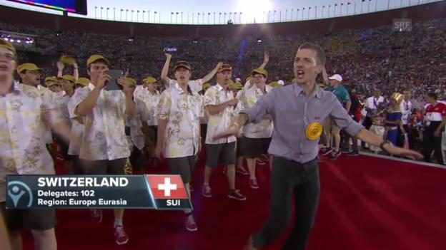 Video «Special Olympics 2015: Eröffnungszeremonie» abspielen