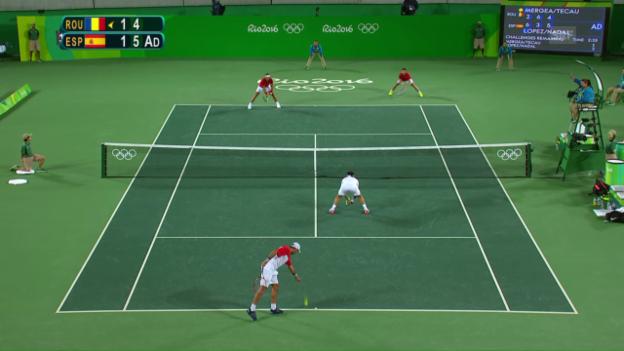 Video «Die entscheidenden Punkte im Doppelfinal der Männer» abspielen