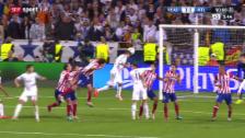 Video «Fussball, Champions League: Zsf. Final Real - Atletico» abspielen