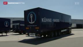 Video «Kühne + Nagel spürt negative Währungseffekte» abspielen