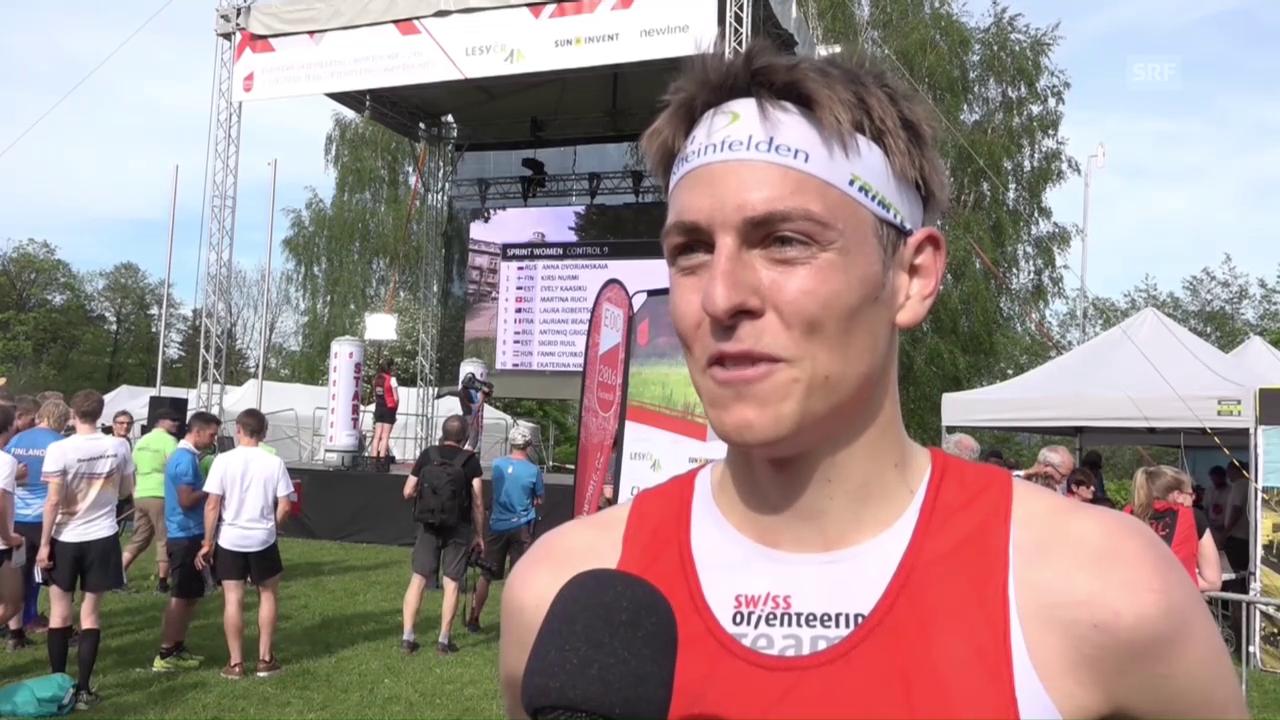 Matthias Kyburz: «Die vor mir gestarteten Schweizer spornten mich an»