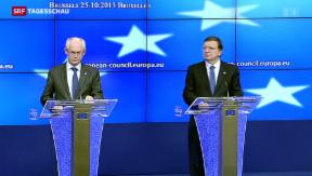 Video «EU will Flüchtlingspolitik nicht ändern» abspielen