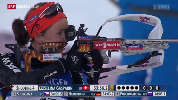 Video «Selina Gasparin ist zurück in der Weltspitze» abspielen