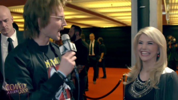 Video «Brig TV am Swiss Music Award (Teil 1)» abspielen