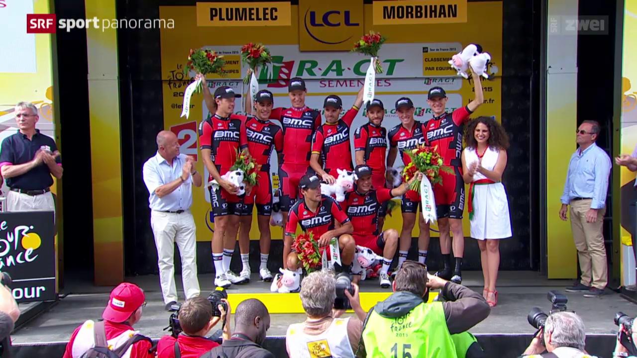 Rad: Tour de France, 9. Etappe, Vannes - Plumelec