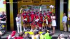 Video «Rad: Tour de France, 9. Etappe, Vannes - Plumelec» abspielen