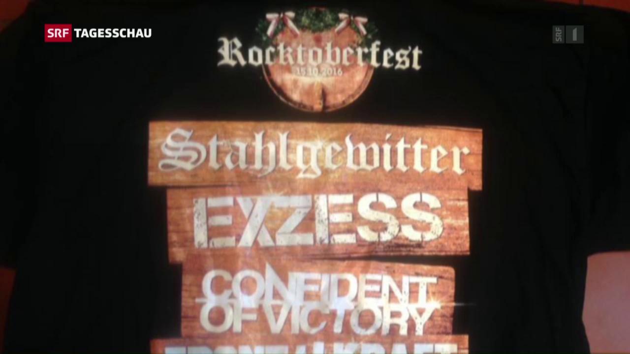 Rechtsrock-Konzert im Toggenburg