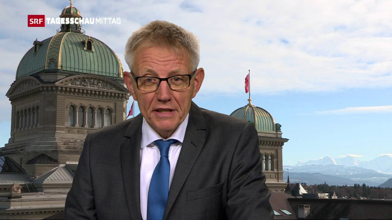 Ein alljährliches Ritual, sagt SRF-Bundshausredaktor Trütsch