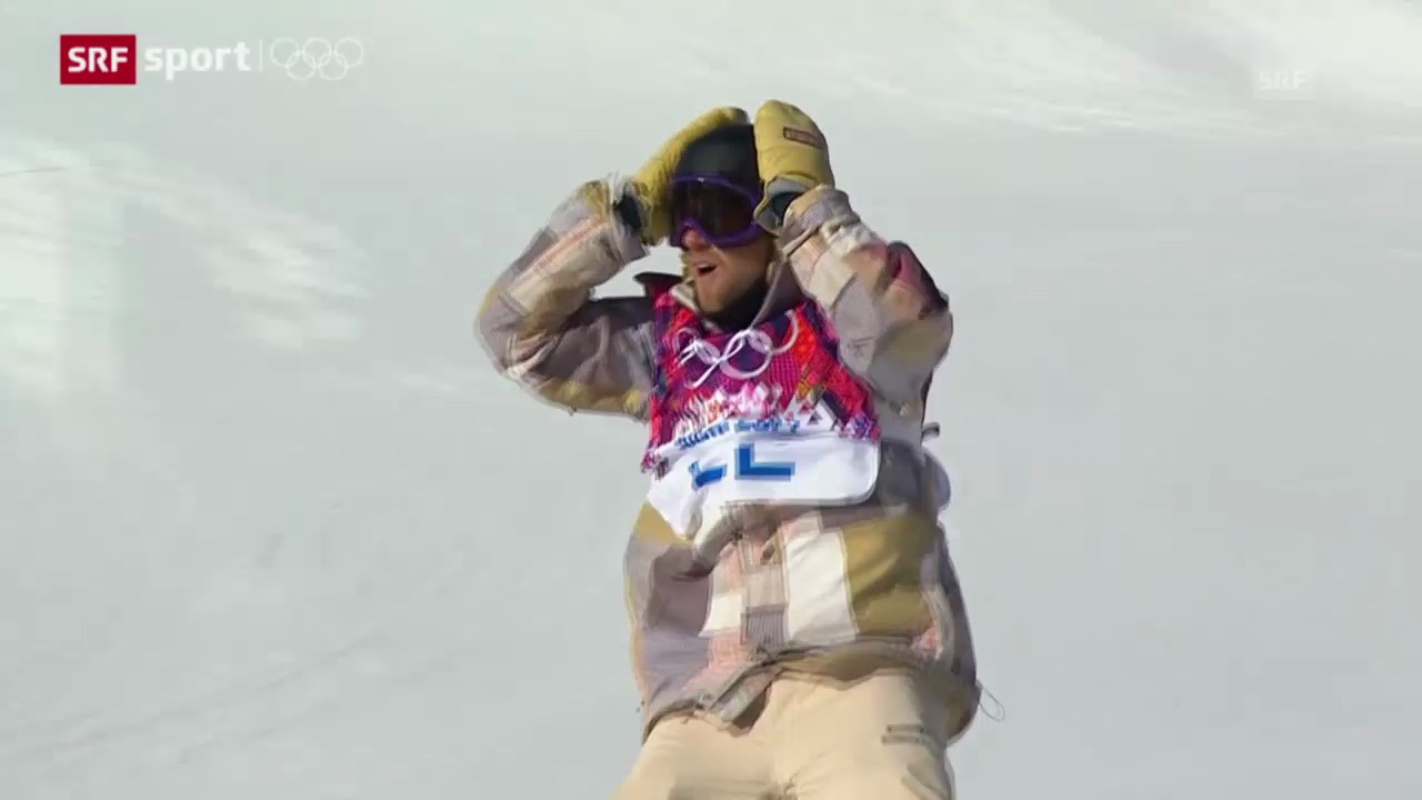 Snowboard: Slopestyle Männer Final («sotschi aktuell», 8.2.2014)