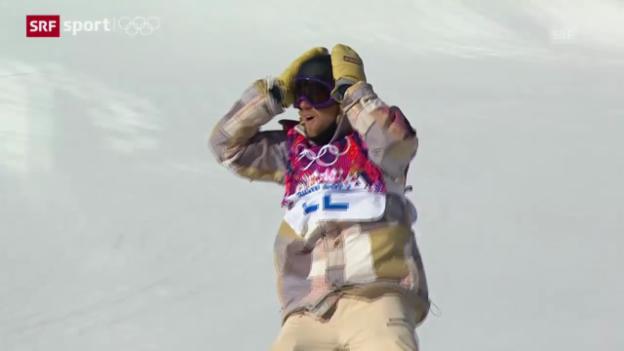 Video «Snowboard: Slopestyle Männer Final («sotschi aktuell», 8.2.2014)» abspielen