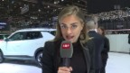 Video «Moderatorin Jennifer Bosshard versucht Autofan zu werden» abspielen