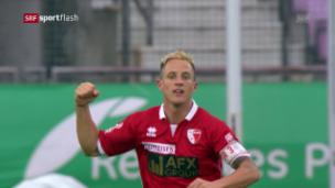 Video «Verstärkung für Luzern - Reto Ziegler unterschreibt bis Ende Jahr» abspielen