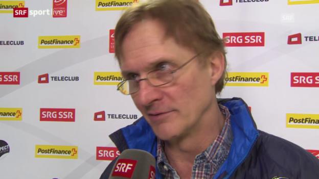 Video «Eishockey: Del Curto im Interview» abspielen