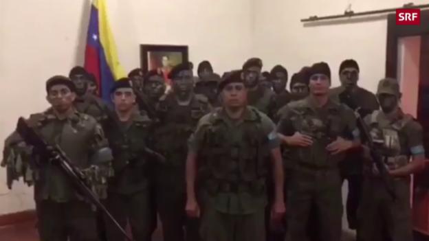 Video «Gruppe ruft zum Aufstand auf» abspielen