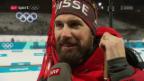 Video «Zweites olympisches Diplom für Biathlet Weger» abspielen