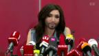 Video «Grosser Erfolg: Conchita Wurst und Sebalter beim ESC» abspielen