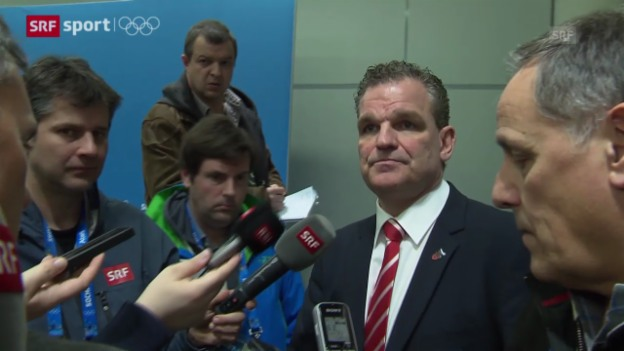 Video «Eishockey: Interview mit Sean Simpson (sotschi aktuell, 18.02.2014)» abspielen