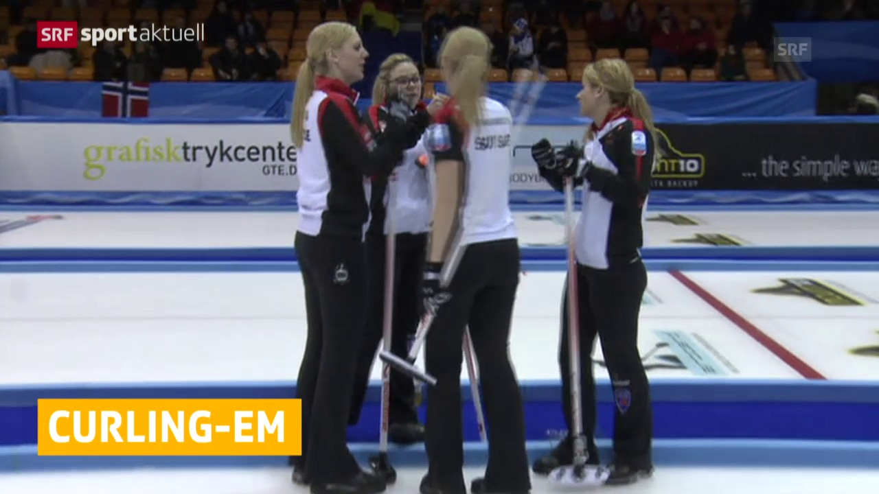 Curling: Unterschiedlicher EM-Start der Schweizer Frauen und Männer («sportaktuell»)