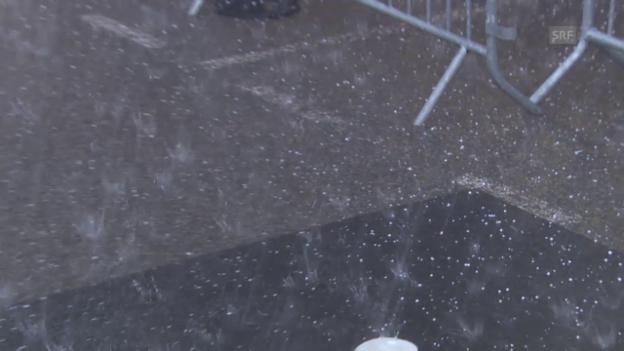 Video «Rad: Tour de France, 12. Etappe, Wetter» abspielen