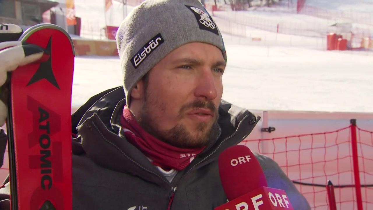 «War die ganze Woche im Slalom schlecht» (Quelle: ORF)
