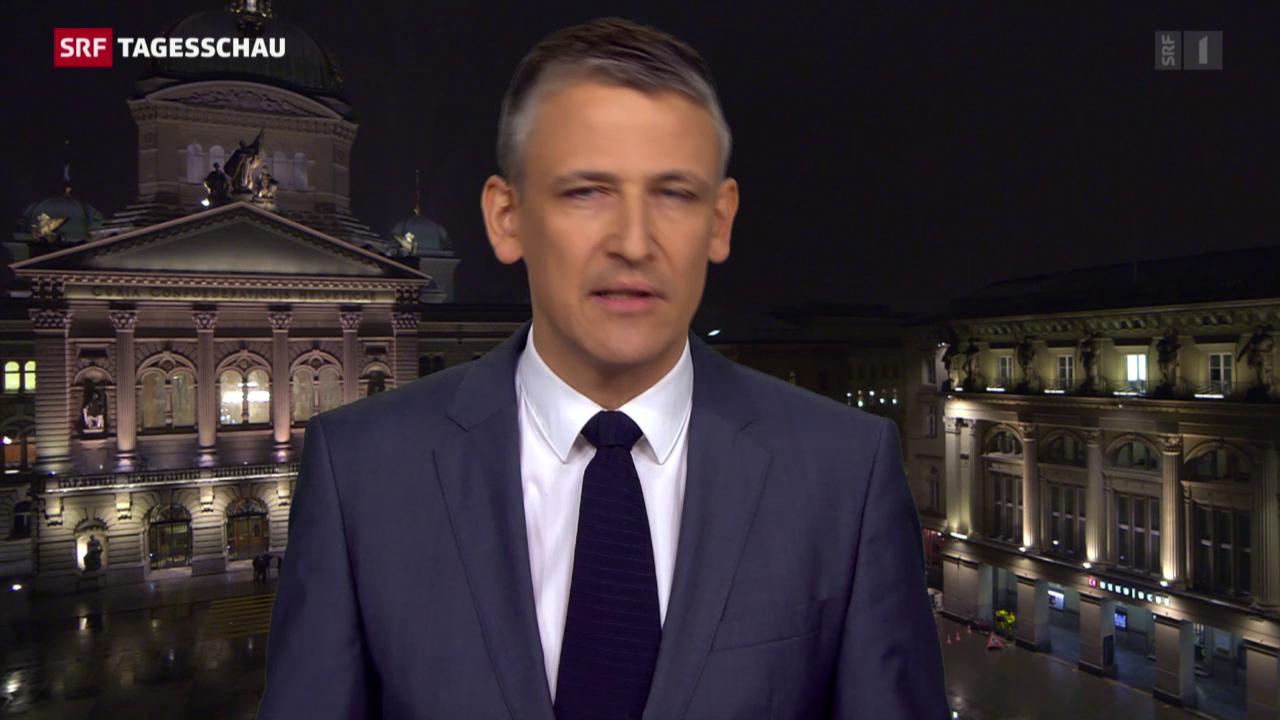 Nufer: «Bundesrat steckt im Dilemma»