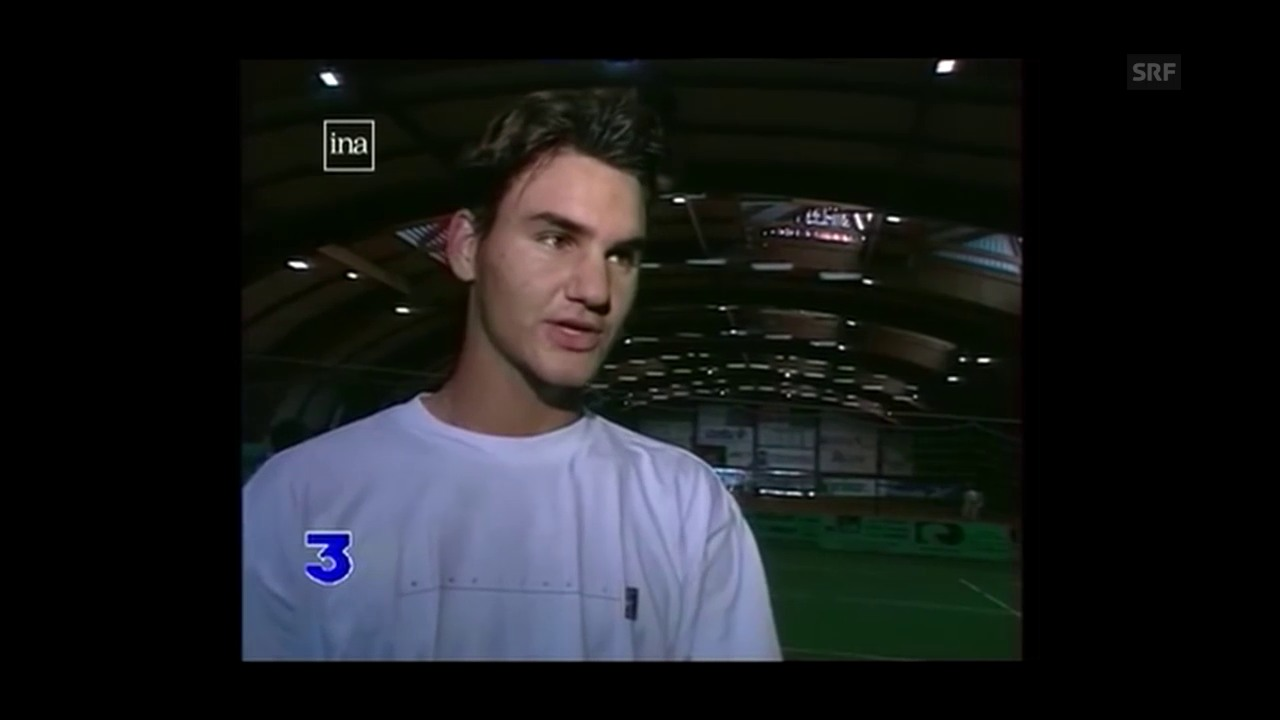 Qualifikant Federer beim Turnier in Toulouse 1998