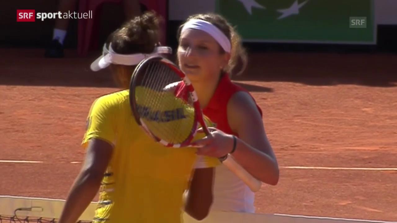 Tennis: Fecup-Team führt in Brasilien («sportaktuell»)
