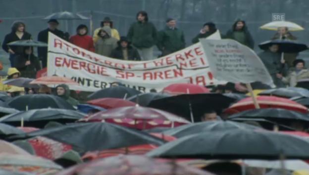 Video «Besetzung Baustelle Kaiseraugst 1975» abspielen