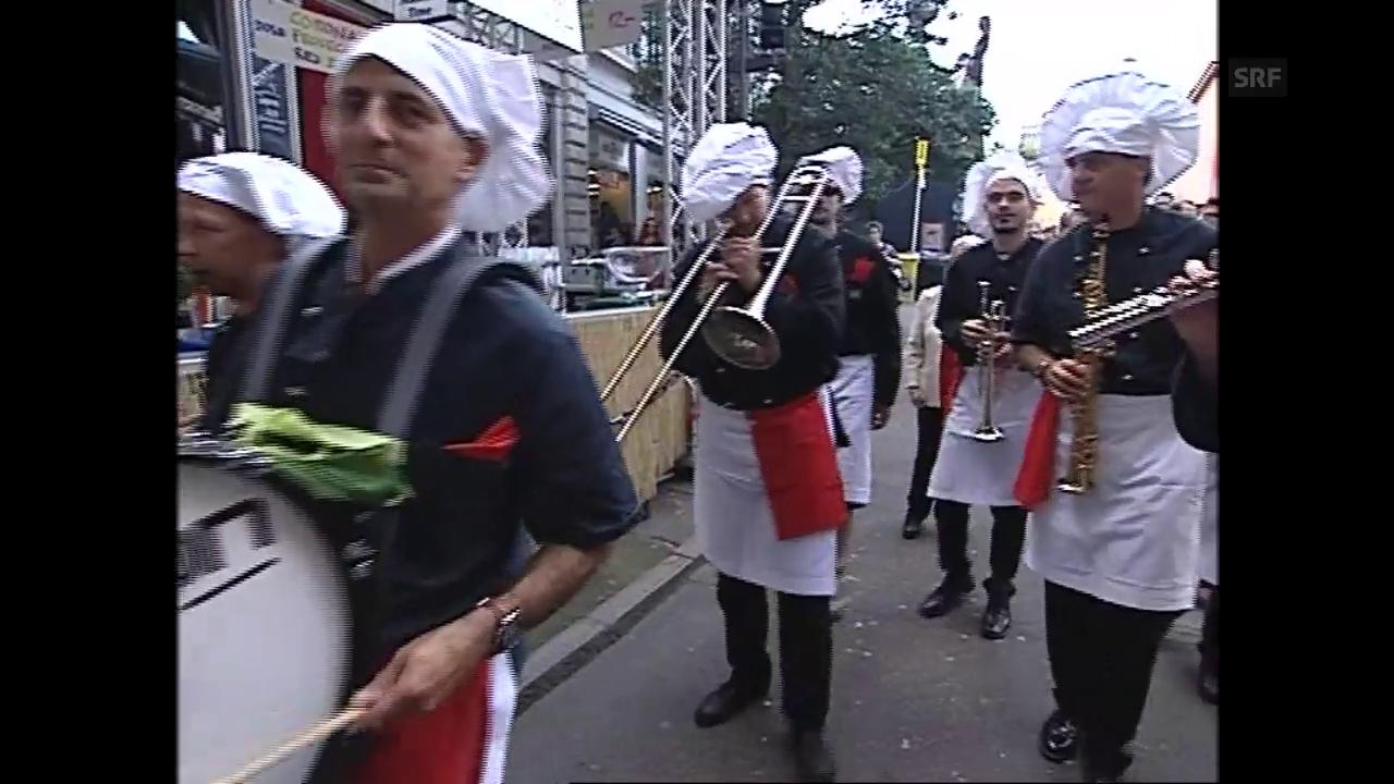Die «Tagesschau» berichtet 2007 von der Badenfahrt.