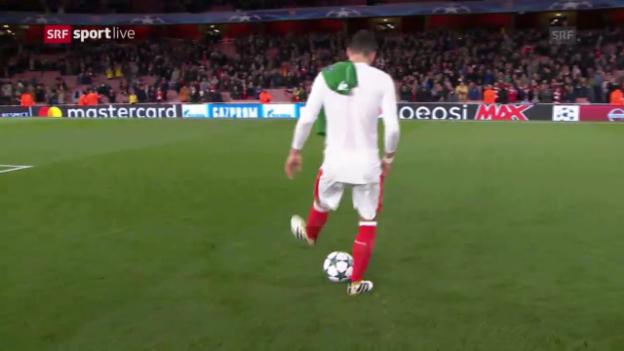 Video «Arsenals Özil ist gegen Ludogorets die grosse Figur» abspielen