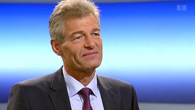 Video «Theke: Heinz Karrer» abspielen