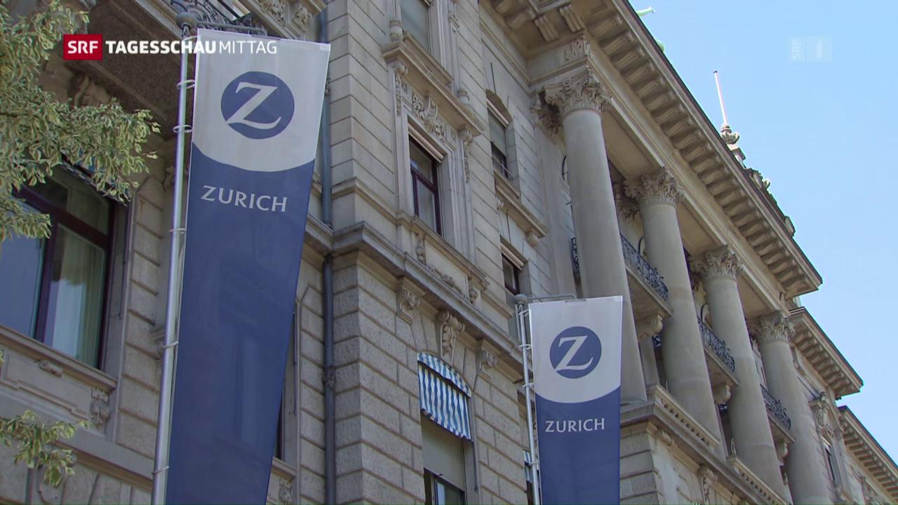 Gewinnrückgang bei Zurich