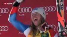 Video «Super-G Frauen in Val d'Isère» abspielen