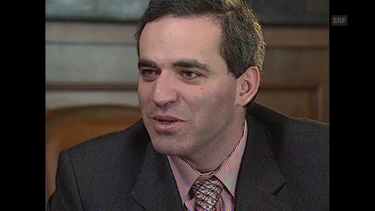 Kasparow vor dem Spiel: «Die Erotik des Schachs ist unereichbar»