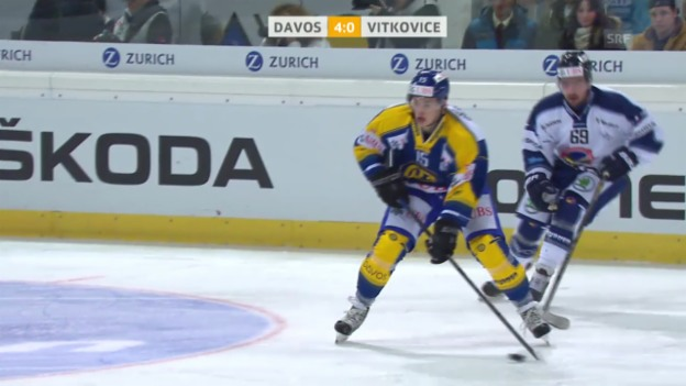 Video «Eishockey: Spengler Cup 2013, Gruppenphase, Davos-Vitkovice» abspielen