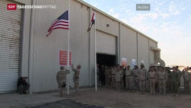 Video «US-Regierung will Truppenstärke reduzieren» abspielen