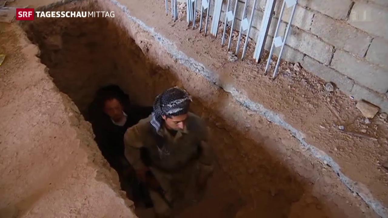 Tunnelsysteme des IS entdeckt