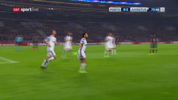 Video «Die Live-Highlights bei Porto – Juve» abspielen