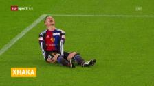 Video «Taulant Xhaka verletzt» abspielen