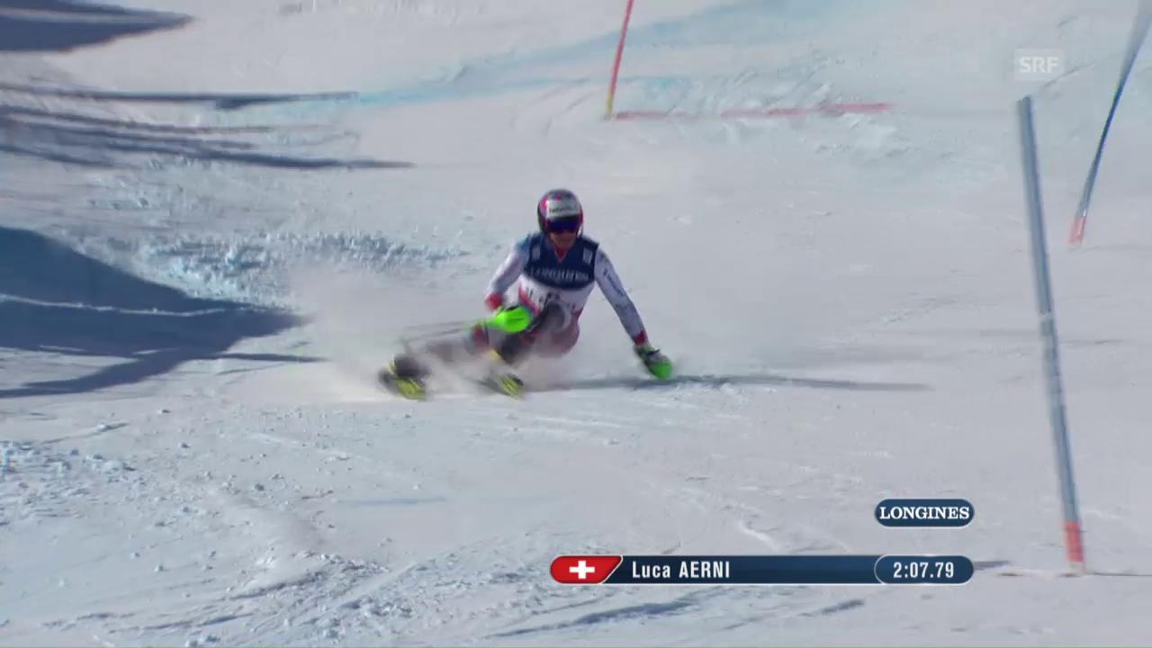 WM-Kombi: Der Gold-Lauf von Luca Aerni