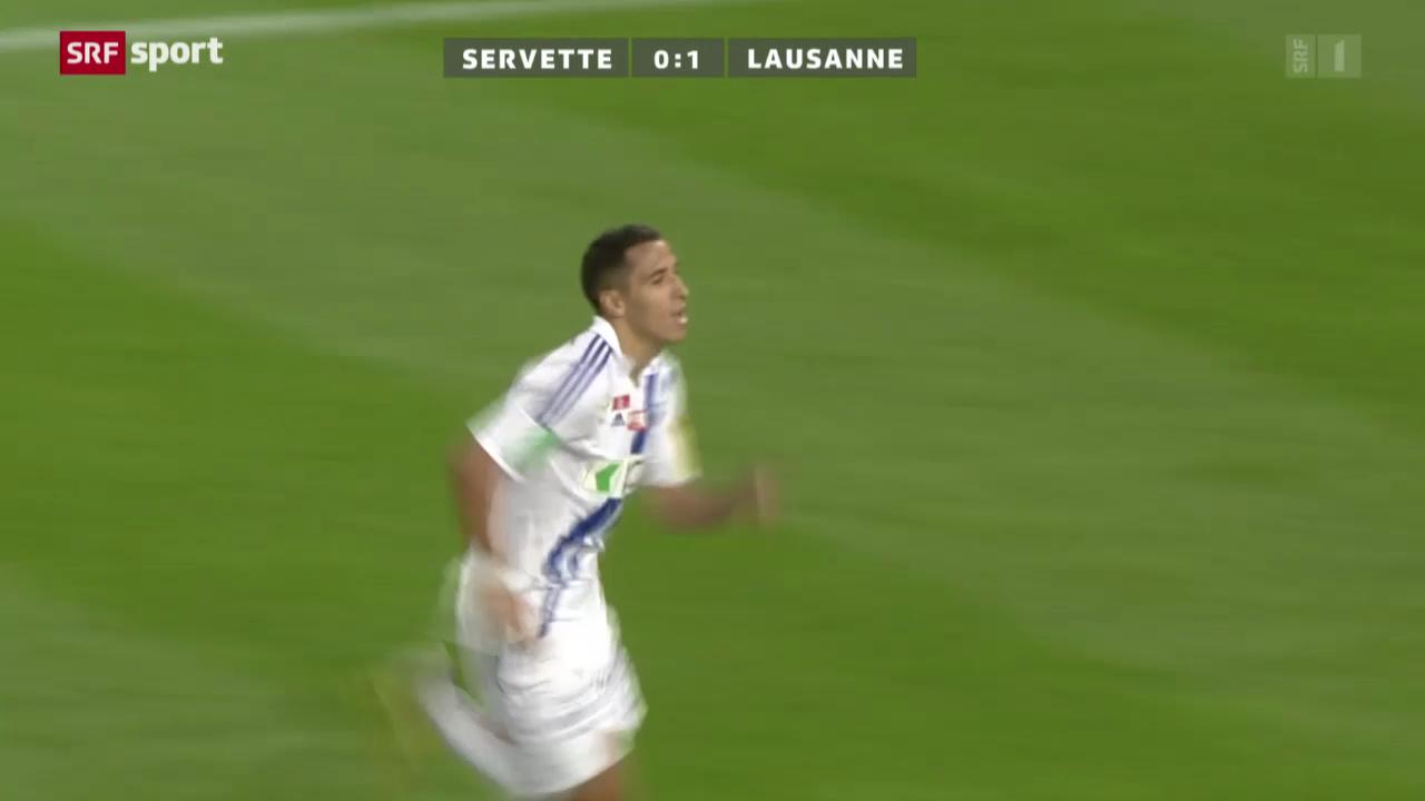 Cup: Servette-Lausanne