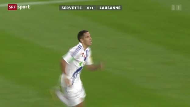 Video «Cup: Servette-Lausanne» abspielen