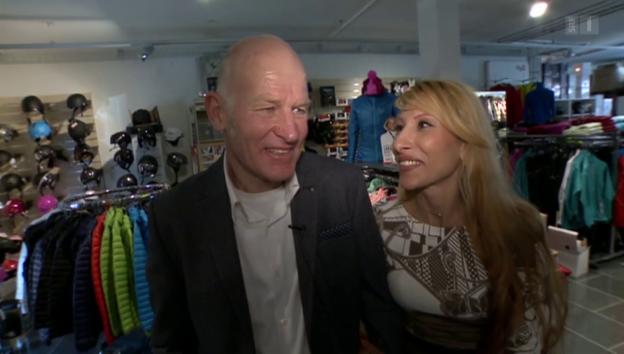 Video «Herzensprinzessin für Peter Müller: Svetlana de Rosa» abspielen