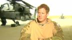 Video «Prinz Harry spricht über Kriegseinsatz» abspielen