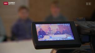 Video «Grossandrang bei Casting für Anno 1914» abspielen