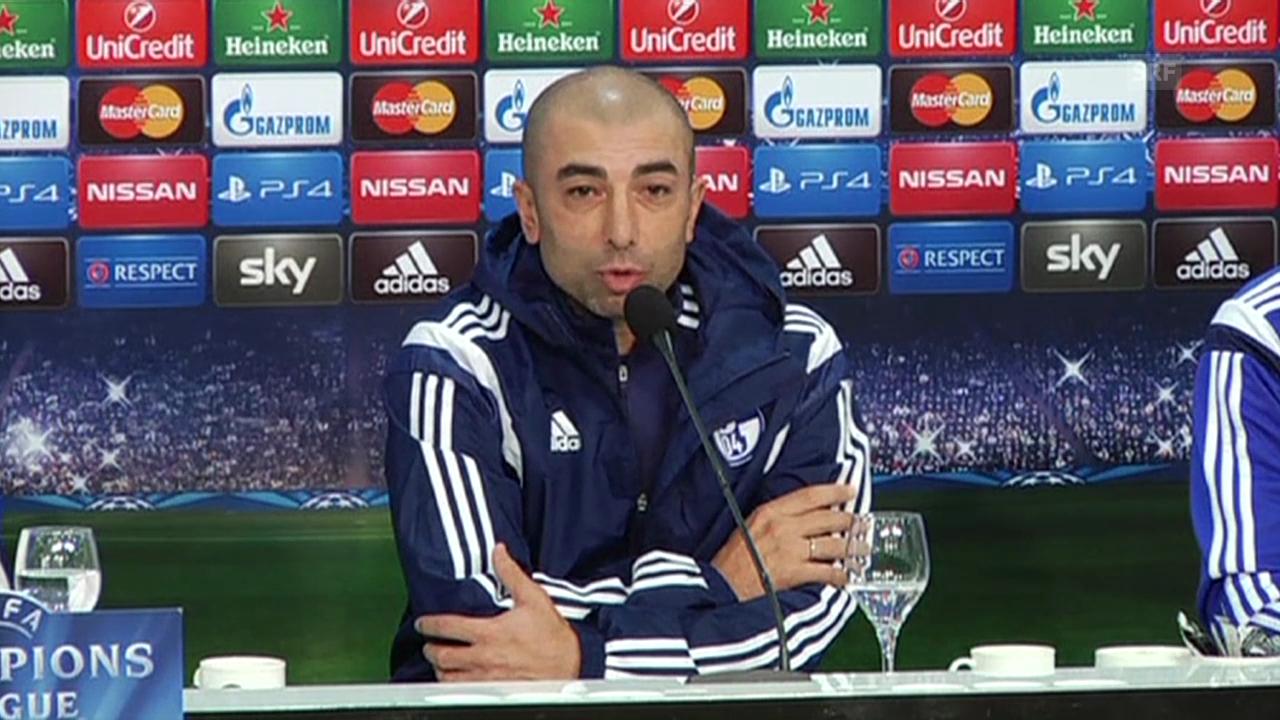 Fussball: Roberto Di Matteo zu Chelsea (Quelle: SNTV)
